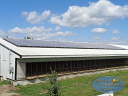 Commercial Solar Power Installation Iowa