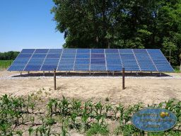Solar Array Ground Mount Iowa